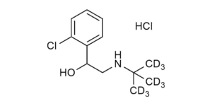 Tulobuterol-D9 hydrochloride reference materials Beta-Agonists - WITEGA Laboratorien Berlin-Adlershof GmbH