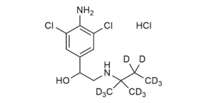 Clenpenterol-D11 hydrochloride reference materials- beta-Agonists - WITEGA Laboratorien Berlin-Adlershof GmbH