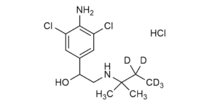 Clenpenterol-D5 hydrochloride reference materials - Beta-Agonists - WITEGA Laboratorien Berlin-Adlershof GmbH
