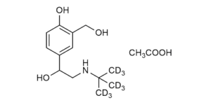Salbutamol-D9 acetate (Albuterol-D9 acetate) - WITEGA Laboratorien Berlin-Adlershof GmbH