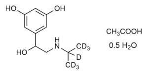 Orciprenaline-D7 acetate hydrate - WITEGA Laboratorien Berlin-Adlershof GmbH