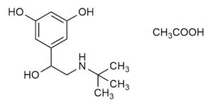 Terbutaline acetate reference materials - Beta-Agonists - WITEGA Laboratorien Berlin-Adlershof GmbH