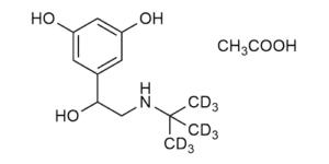 Terbutaline-D9 acetate hydrate - WITEGA Laboratorien Berlin-Adlershof GmbH