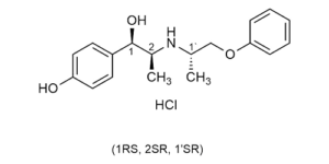 erythro-Isoxsuprine hydrochloride beta agonist - Beta-Agonists - reference materials - WITEGA Laboratorien Berlin-Adlershof GmbH