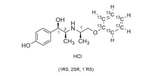 alloerythro-Isoxsuprine-13C6 hydrochloride - BA055 - - Beta-Agonists - WITEGA Laboratorien Berlin-Adlershof GmbH