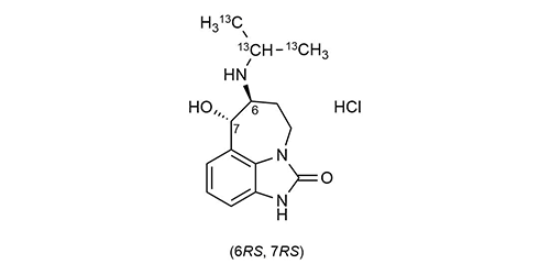 Zilpaterol-13C3 hydrochloride WITEGA Laboratorien Berlin-Adlershof GmbH
