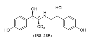 Ritodrine-D3 hydrochloride - reference materials - Beta-Agonists - WITEGA Laboratorien Berlin-Adlershof GmbH