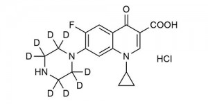 Ciprofloxacin-D8 hydrochloride hydrate - WITEGA Laboratorien Berlin-Adlershof GmbH