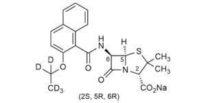 Nafcillin-D5 sodium salt - WITEGA Laboratorien Berlin-Adlershof GmbH