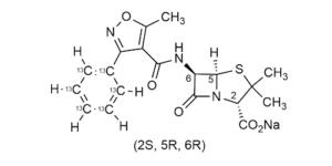 Oxacillin-13C6 sodium salt - WITEGA Laboratorien Berlin-Adlershof GmbH