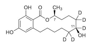 Taleranol-D5 (β-Zearalanol-D5) - WITEGA Laboratorien Berlin-Adlershof GmbH