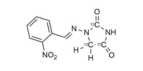 2-NP-AHD-13C3 reference materials - analytical standards - nitrofuran metabolites - WITEGA Laboratorien Berlin-Adlershof GmbH