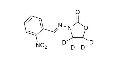 2-NP-AOZ-D4 reference materials - analytical standards - nitrofuran metabolites - WITEGA Laboratorien Berlin-Adlershof GmbH