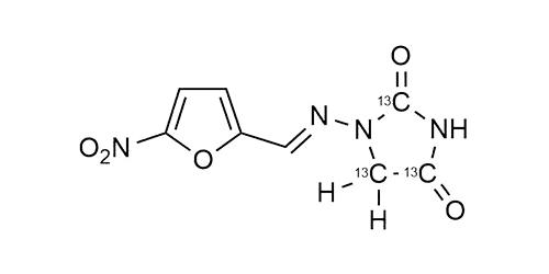 Nitrofurantoin-13C3 reference materials - analytical standards - nitrofuran metabolites - WITEGA Laboratorien Berlin-Adlershof GmbH