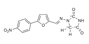 Dantrolene-13C3 reference materials - analytical standards - nitrofuran metabolites - WITEGA Laboratorien Berlin-Adlershof GmbH