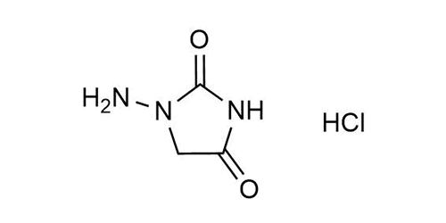 AHD hydrochloride 1-Aminohydantoin hydrochloride reference materials - analytical standards - nitrofuran metabolites - WITEGA Laboratorien