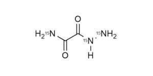 Oxamic acid hydrazide-15N3 reference materials - analytical standards - nitrofuran metabolites - WITEGA Laboratorien Berlin-Adlershof GmbH