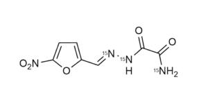 Nifuraldezone-15N3 reference materials - analytical standards - nitrofuran metabolites - WITEGA Laboratorien Berlin-Adlershof GmbH