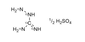 Aminoguanidine-13C 15N4 sulfate reference materials - analytical standards - nitrofuran metabolites WITEGA Laboratorien Berlin-Adlershof GmbH