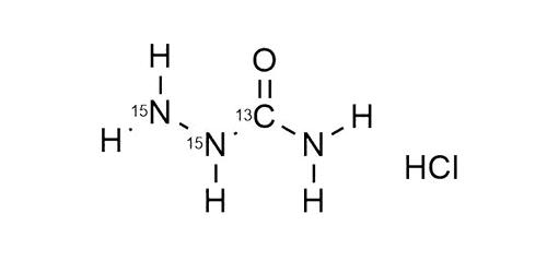 SCA-HCl – 13C,15N2 reference materials - analytical standards - nitrofuran metabolites - WITEGA Laboratorien Berlin-Adlershof GmbH